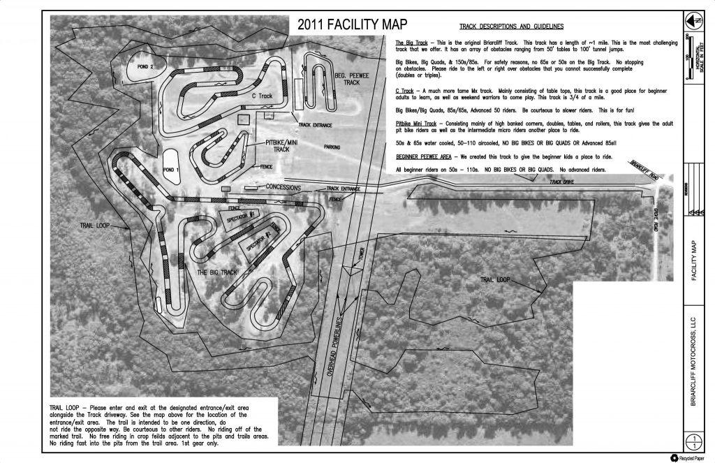 2011 Facility Map
